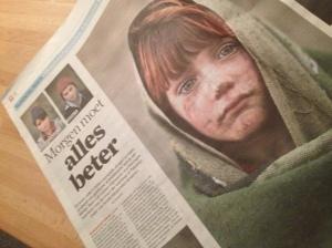Ze vlogen me aan, de Afghaanse kinderen. Vluchtelingen die leven in bittere armoede, Kinderen van de rekening, Een wrang begin van de dag.