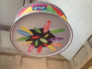 De versiering hangt op Maastricht centraal. Carnaval is een feit..Alaaf!