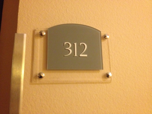 De kamer voor een nacht. Klinkt goedkoop maar het tegendeel is waar