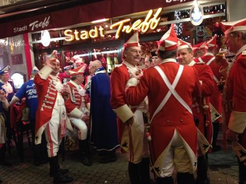 De Rote Funken een begrip in het Keulse carnaval.