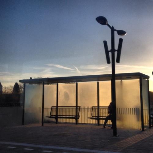 Het einddoel is in zicht. Station Maastricht Noord levert nog een zoekplaat op. Blijf zitten waar je zit.....