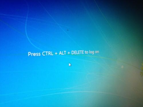 De werkdag begint altijd hetzelfde, ctrl-alt-delete