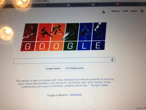 Ik ben dol op de Google Doodles. Altijd verrassend