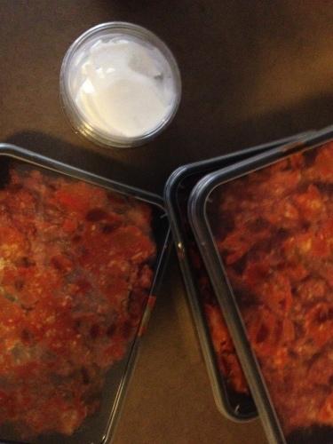 Chili con carne van Saveurs. Vrijdag, lunchdag