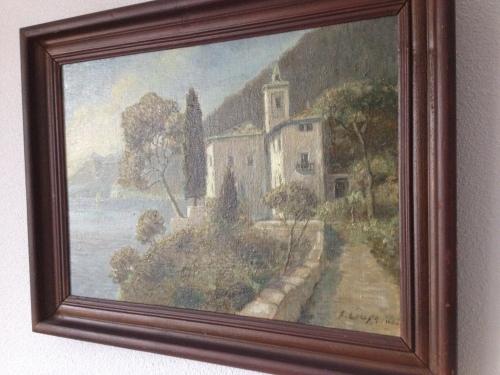 Sommige foto's laten mijn zus aan schilderijen van onze overgrootvader denken.  Ik heb waarschijnlijk zijn kijk op de wereld geërfd.