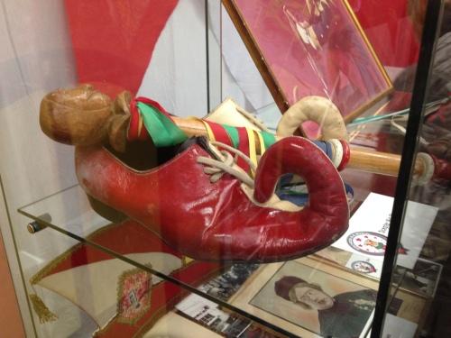 Niet de schoenen van de koning, maar van de Hofnar...