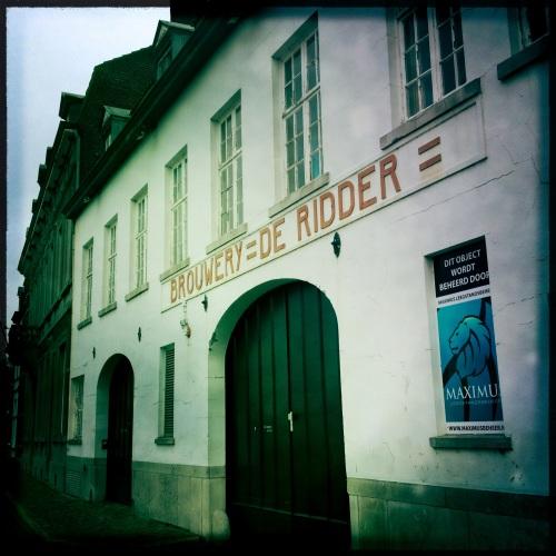 Oude brouwerij, de poorten voorgoed gesloten...