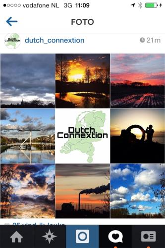 Tussendoor nog in het zonnetje gezet door @dutch_connextion op Instagram. Mijn foto luchtfoto staat linksboven