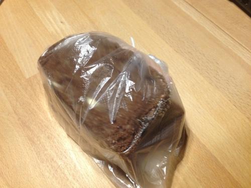 Het brood voor vandaag...vreselijk saai. Lunchploggen ga  niet zeker vaak doen...