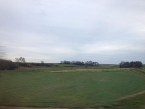 Het heuvelland lijkt saai vandaag
