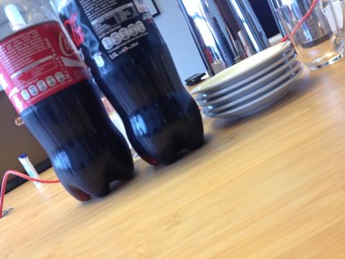 Koffie, thee en coca-cola...