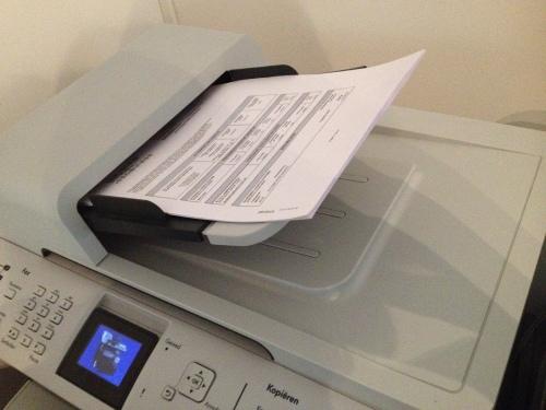 en scannen..