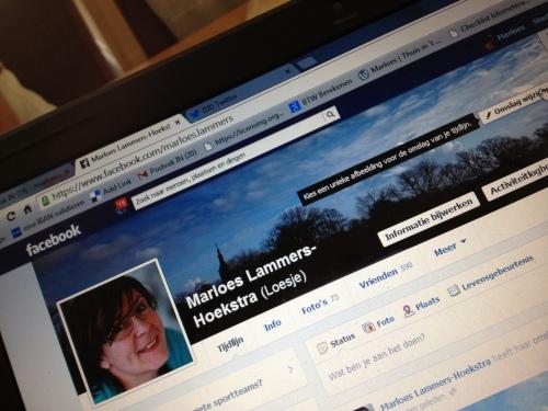 Tijd om facebook ook even op te schonen.