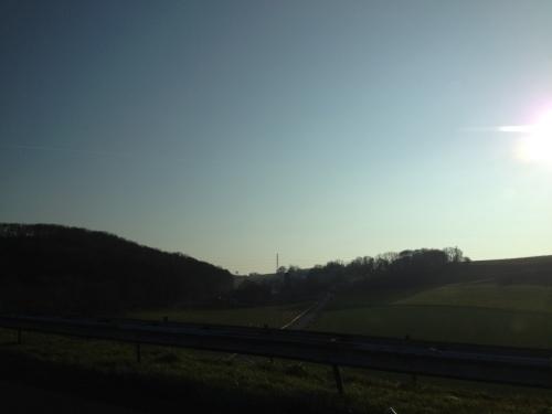 Nog een blik op het stralende Limburgse landschap. Tot morgen!