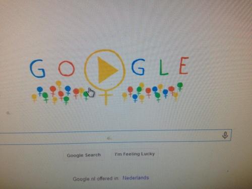 Volgens Google is het International women's day. Het zou wat