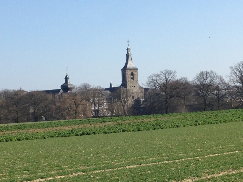 De mooiste toren van Kerkrade, nu van een andere kant.