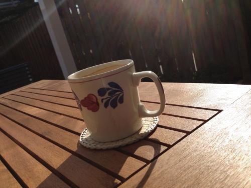 en koffie!
