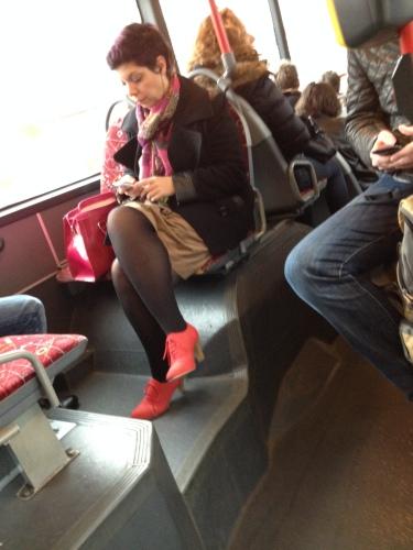 Is het vandaag opvallende schoenen dag?