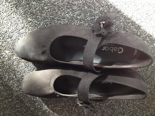 Nieuwe schoenen gekocht..