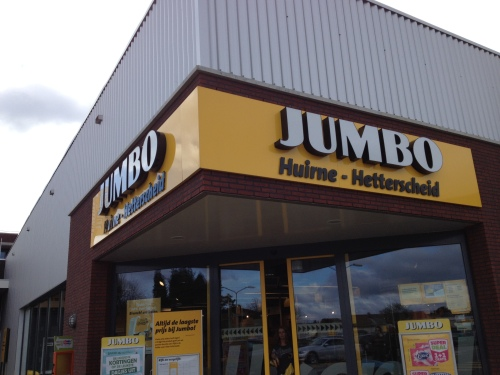 Hallo Jumbo, er is werk aan de winkel dus boodschappen doen in vliegende vaart