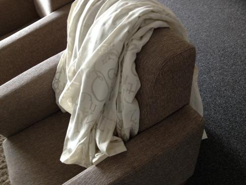 De gordijnen gaan de wasmachine is, het startschot voor de grote schoonmaak. Geen tijd voor foto's, alleen maar  vegen, boenen, soppen en stofhappen.