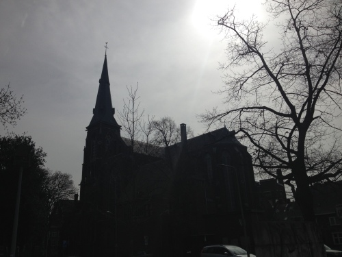Ik zie de kerk nu eens van een andere kant