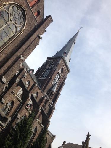 De voorkant van de Kerk is prachtig