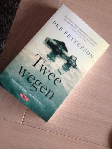 Nog een verrassing. Boek nummer twee is aangekomen. Ik kan voorlopig weer vooruit. Dag dag, tot morgen!