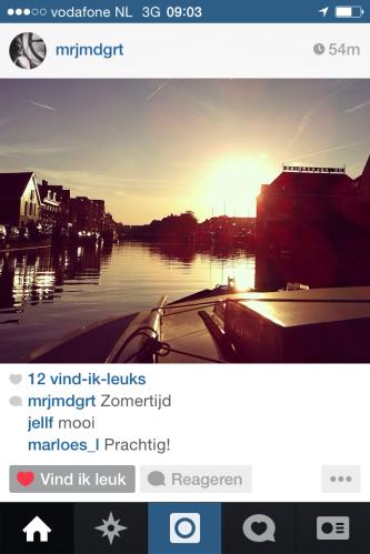 ik zie de mooiste foto's voorbij komen op mijn Instagram account. Elke dag zie ik de zon opkomen vanuit verschillende hoeken en landen. We leven in een geweldige tijd