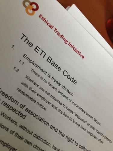 De hele ochtend praten over een personeelsregelement, urenregistratie en de basis van de ETI...