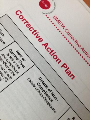 Een taakverdeling op papier zetten en actief actie ondernemen..