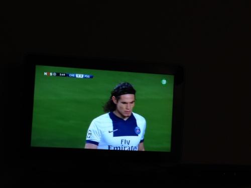 De man kijkt voetbal en ik plog. Het is weer mooi voor vandaag. Dag dag, tot morgen!