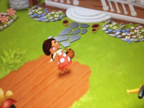 en dit kleine meisje is mijn eigen roodkapje...huppel de huppel