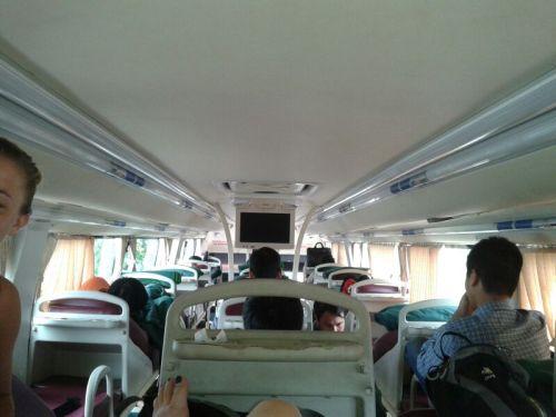 Foto uit Vietnam...liggend reizen. Lijkt me leuk