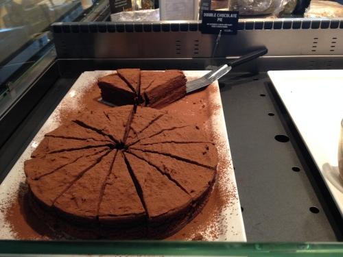 Saveurs heeft weer chocoladetaart...