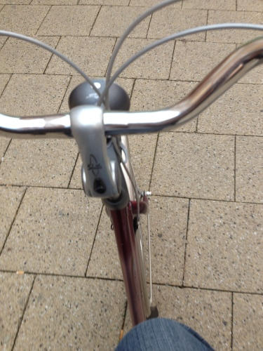en spring ik nog even op de fiets.