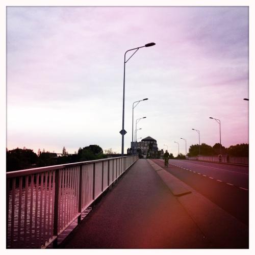 en dan is de werkdag weer voorbij. Dag Maastricht.