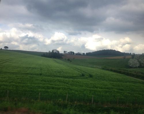 Van deze kant zijn de heuvels toch echt mooier.