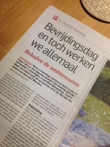 Het  verschil. Nederland werkt, maar niet als je ambtenaar bent. Oud nieuws...toch?