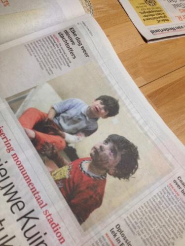 Onze aandacht gaat vandaag de dag helemaal naar Oekraine, maar wat doen we voor de kinderen van Syrië?