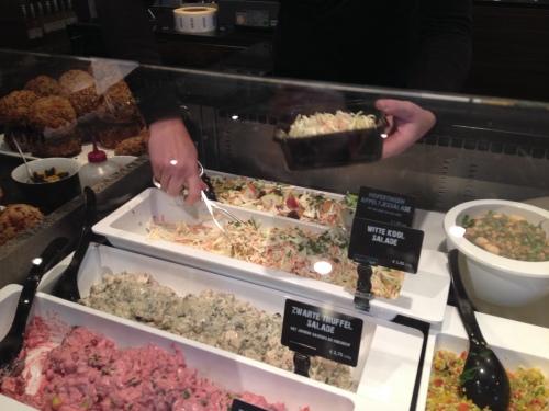 Salade bij?