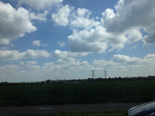 Terug naar huis dan maar, de wolken gaan mee