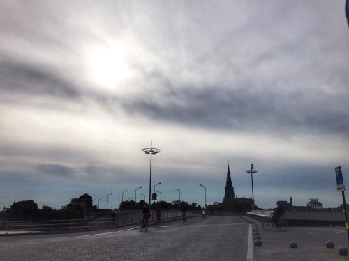 Hallo Maastricht, breek die wolken maar open.