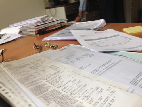 Een werkdag vol facturen, mailen, rekenen en kopieëren. Ik ga jullie niet vervelen met details.