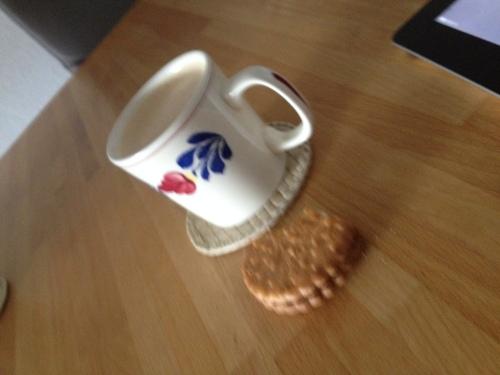Na het sporten is het goed koffie drinken..