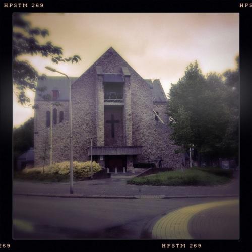 Niet de mooiste,  maar wel MIJN kerk.