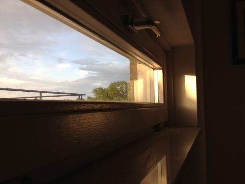 en dan, aan het einde van de dag is daar dan toch nog de zon.