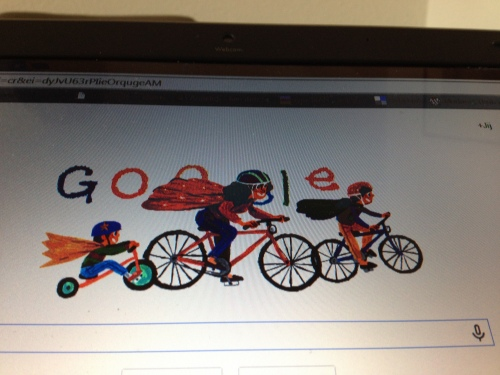 Zelfs bij google is het moederdag alhoewel ik het verband niet zie.