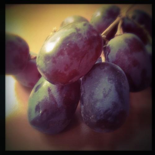 Energie bijtanken. Tijd voor fruit.
