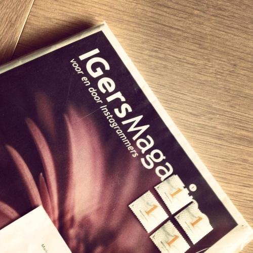 Verrasing...het IGersMagazine is aangekomen.